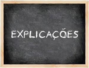Explicações Dirmática